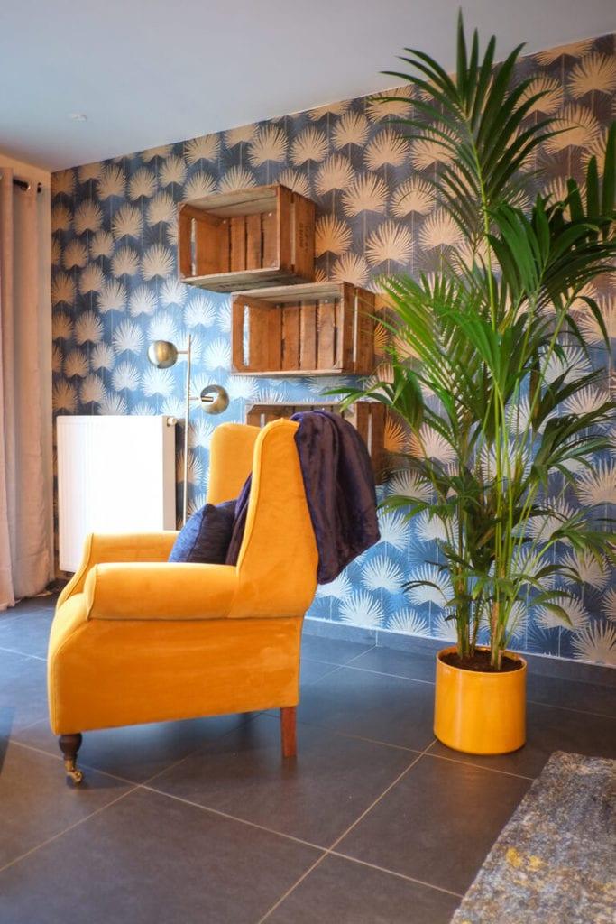 Interieur- en afstylingsplan woonkamer te Maldegem